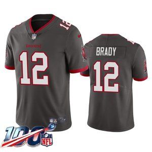 Tampa Bay Buccaneers Tom Brady Pewter Jersey